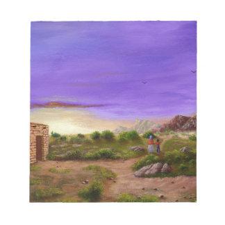 Desert Walk Notepad
