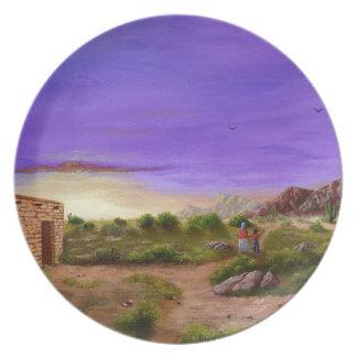 Desert Walk Plate