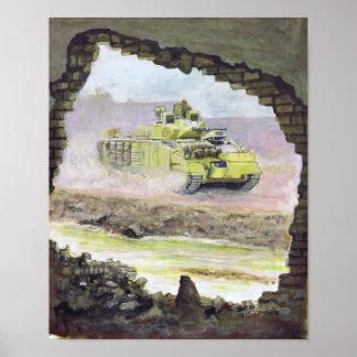 Desert Warrior Iraq Poster