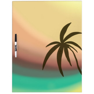 Desert Wave Dry Erase White Board