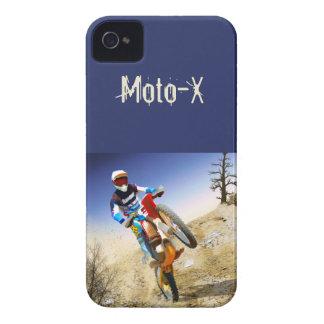 Desert Wheelie Motocross iPhone 4 Case-Mate Case