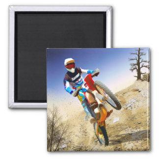 Desert Wheelie Motocross Magnet