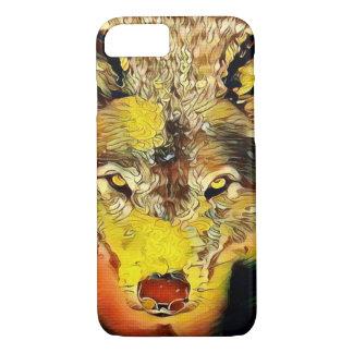 Desert Wolf Indie Airbrush Art Custom Apple iPhone iPhone 8/7 Case