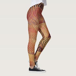 desert zigzag prints leggings
