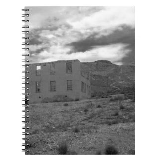 Deserted Building Photography Spiral Notebook