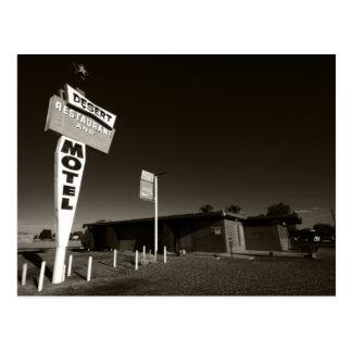 Deserted Motel Postcard