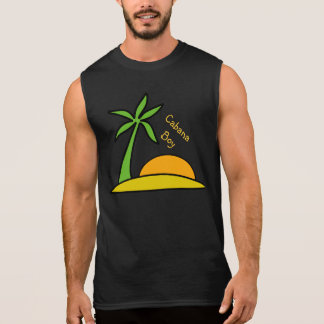 Deserted Tropical Island Sleeveless Shirt