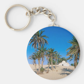 Deserts Near Douz Sahara Tunisia Key Ring