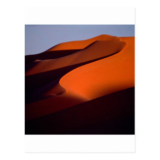 Deserts Shadows The Sand Morocco Postcard