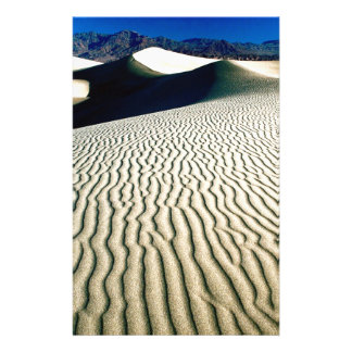 Deserts Wind Etchings Death Valley Stationery