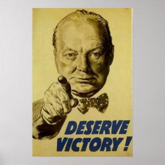 Deserve Victory! Poster
