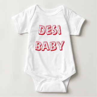 Desi Baby! (Indian Baby!) Baby Bodysuit
