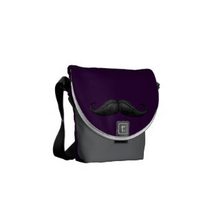 Desi-Boys Waxed and Braided Moustache Bags Courier Bag