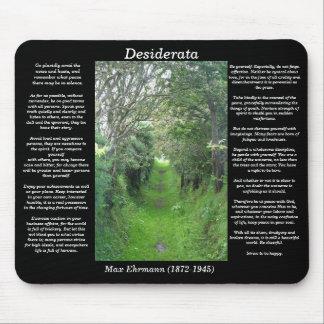 DESIDERATA Grass Road Mousepad