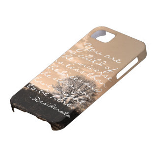 Desiderata poem inspirational saying quote nature iPhone 5 cover