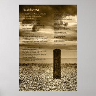 Desiderata poster - I Have Time
