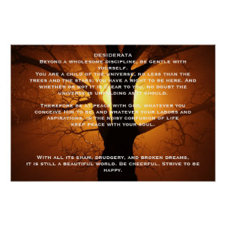 DESIDERATA Willow Tree Posters