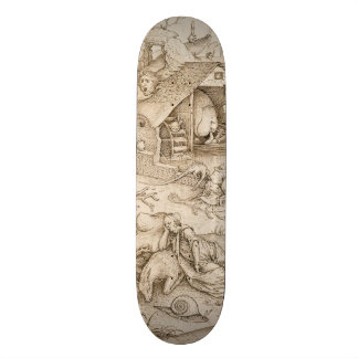 Desidia (Sloth) by Pieter Bruegel the Elder 19.7 Cm Skateboard Deck