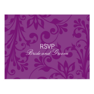 DESIGN 03 - Colour Purple Postcards