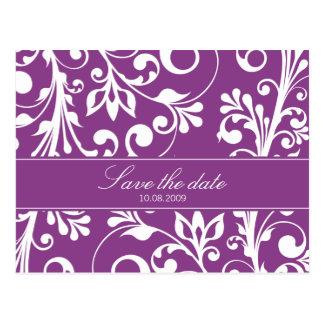 DESIGN 03- Colour: Purple Postcard