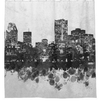 Design 47 Skyline Cityscape Shower Curtain
