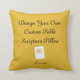 Design A Custom Bible Scripture Pillow