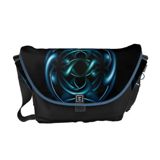 Design abstract messenger bags
