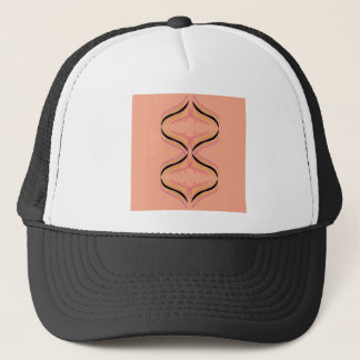 Design arabic Orange Trucker Hat