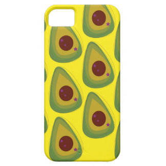 Design avocados on gold iPhone 5 cover