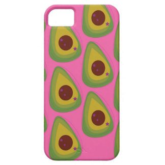 Design avocados on pink iPhone 5 case