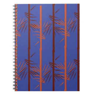 Design bamboo blue notebooks