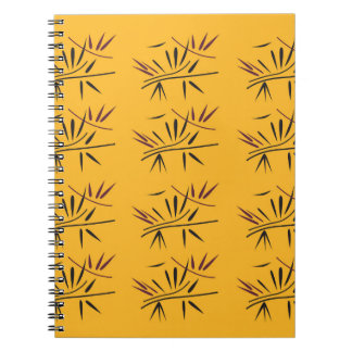 Design bamboo Gold Eco Notebooks