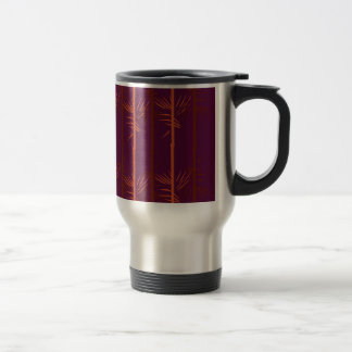 Design bamboo wine edition ethno travel mug