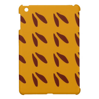 Design beans on gold case for the iPad mini