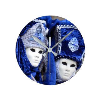 Design bell Venetian Carnival Clock
