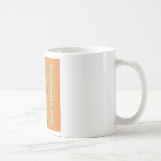 Design bio bamboo elements coffee mug