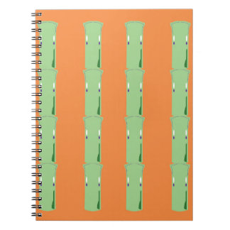 Design bio bamboo elements notebooks