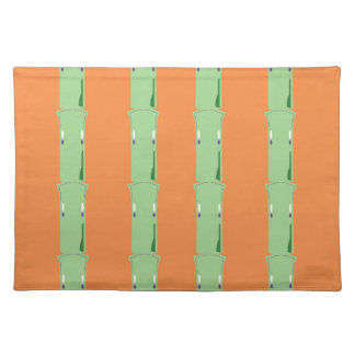 Design bio bamboo elements placemat