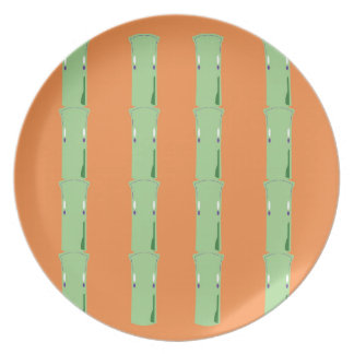 Design bio bamboo elements plate