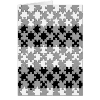 Design - Black & White Greeting Card