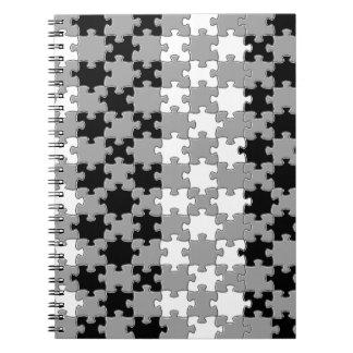 Design - Black & White Notebook