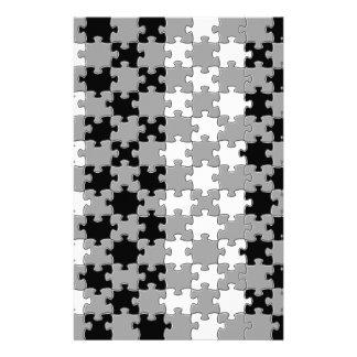 Design - Black & White Customized Stationery