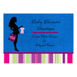 Design Boutique for Baby Items Business Carder Pack Of Chubby Business Cards