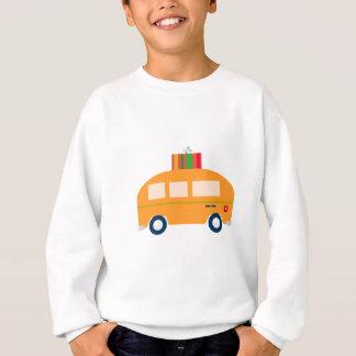 Design bus gold sweatshirt