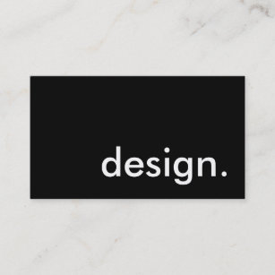 design. business card