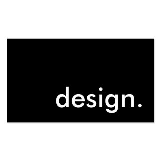 design. Double-Sided standard business cards (Pack of 100)