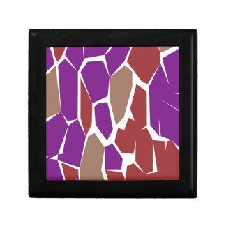 Design colorful giraffe gift box