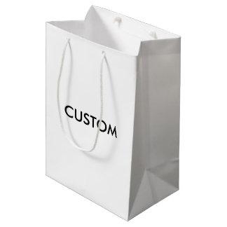 DESIGN CUSTOM CUSTOMIZE TEMPLATE BLANK MEDIUM GIFT BAG