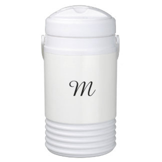 DESIGN CUSTOM CUSTOMIZE TEMPLATE MONOGRAM COOLER