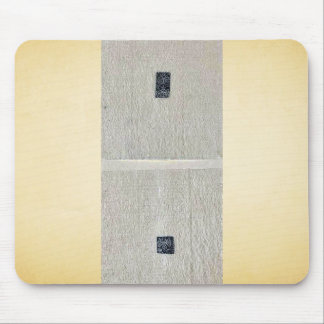 Design drawings for rectangular seals or stamps Uk Mouse Pad